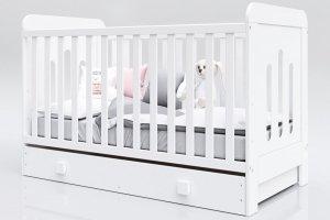 Łóżeczko niemowlęce tapczanik 2w1 ZUZA 140x70 BARIERKA GRATIS