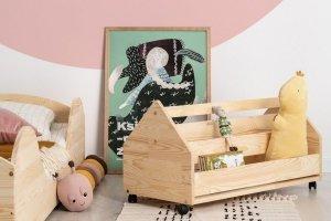Drewniana skrzynia na zabawki KUTU 1 XL