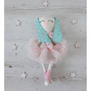 Maskotka personalizowana  króliczek baletnica Dalia