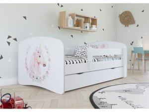 Łóżko dziecięce KONIK różne kolory 140x70 cm