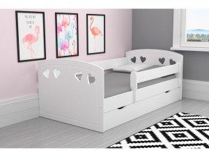 Łóżko dziecięce JULIA 140x80 białe