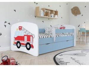 Łóżko dziecięce STRAŻ POŻARNA różne kolory 160x80 cm