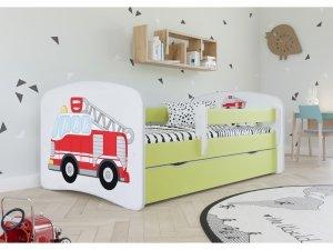 Łóżko dziecięce STRAŻ POŻARNA różne kolory 140x70 cm