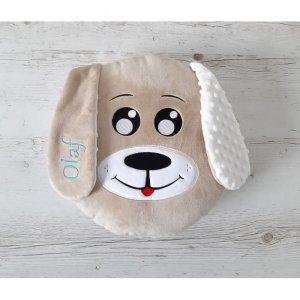 Poduszka personalizowana Piesek Beżowy
