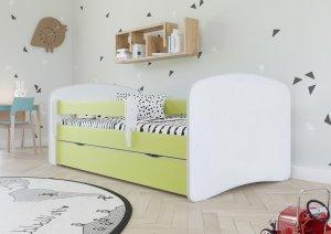 Łóżko dziecięce BABYDREAMS różne kolory 140x70 cm