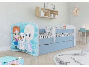 Łóżko dziecięce KRAINA LODU 140x70 różne kolory