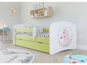 Łóżko dziecięce KONIK różne kolory 160x80 cm