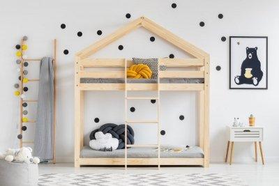 Łóżko dziecięce piętrowe DOMEK MIla DMP różne rozmiary