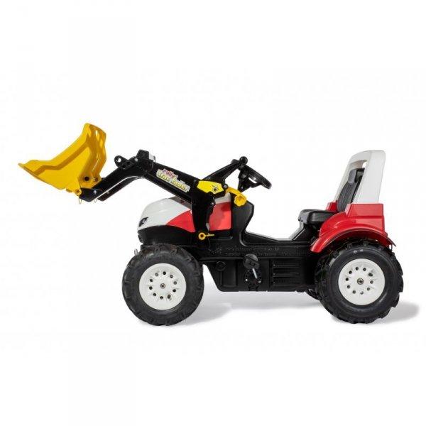 Rolly Toys Traktor rollyFarmtrac Steyr 6300 Terrus CVT z Łyżką na Pedały