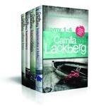 Pakiet Camilla Lackberg Tom 1-4 Księżniczka z lodu / Kaznodzieja / Kamieniarz / Ofiara losu (dodruk 2018)