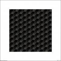 Czarne trójkąty - plakat premium