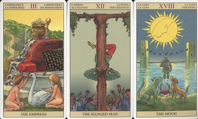 Tarot of the New Vision inst.po polsku