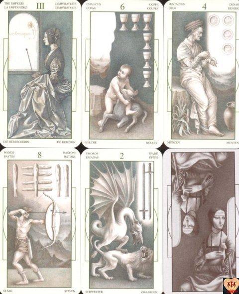 Leonardo da Vinci Tarot instr. po polsku