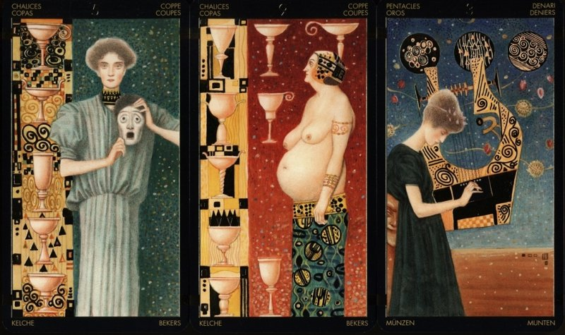 Golden Tarot of Klimt, instr.PL