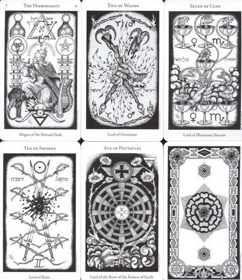 The Hermetic Tarot, instr. po polsku