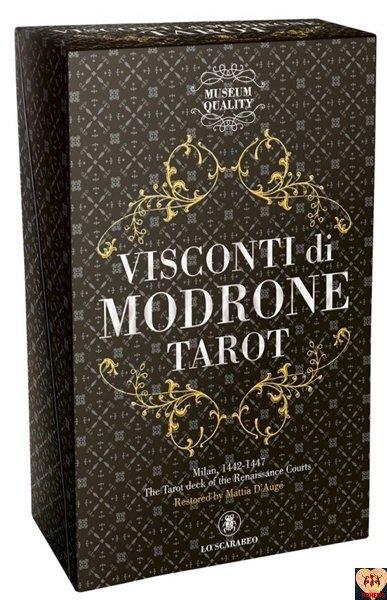 Visconti di Modrone Tarot - museum quality line
