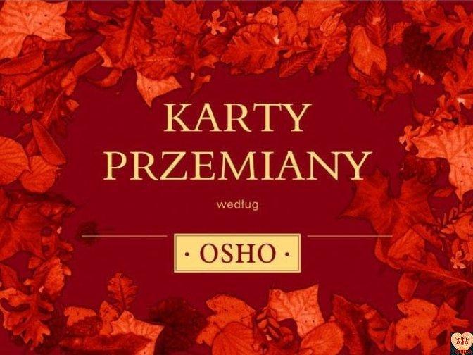 Karty przemiany według Osho (książka + karty)