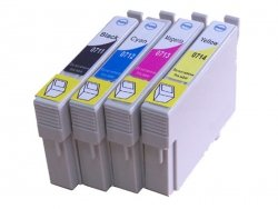 Tusz E711 zamiennik do Epson T0711 Black