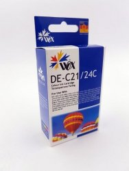 Tusz Wox Trójkolorowy Canon BCI 24C BCI 21C zamiennik 6882A002