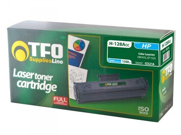 Toner TFO H-128ACC zamiennik HP 128A Cyan CE321A