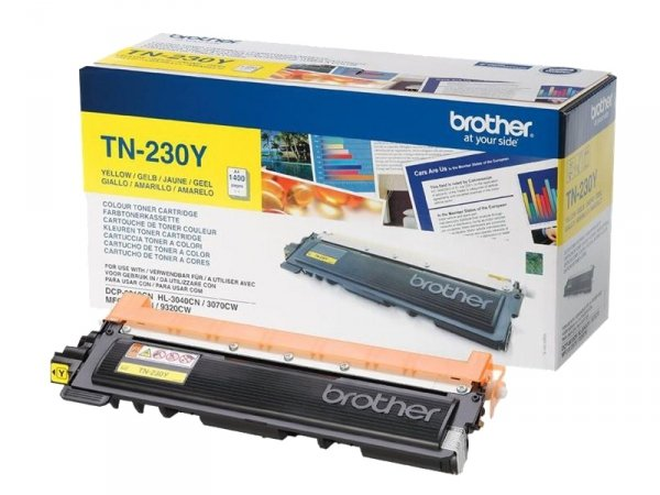 Toner Brother TN-230Y Oryginalny Yellow