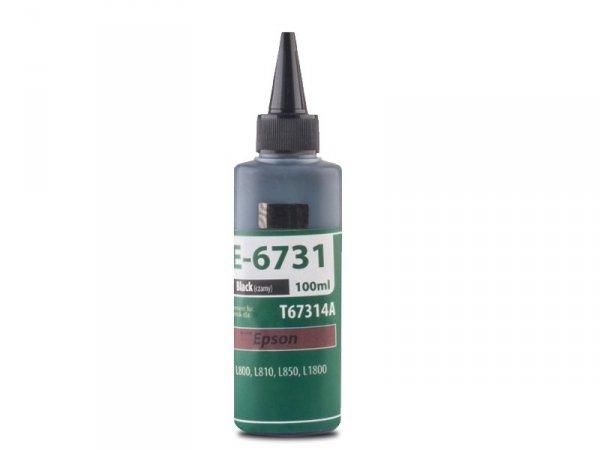 Tusz TFO E-6731 Black zamiennik do Epson T6731 Bk