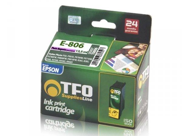 Tusz TFO E-806 zamiennik do Epson T0806 Photo Magenta