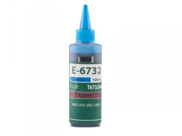 Tusz TFO E-6732 Cyan zamiennik do Epson T6732 Cy