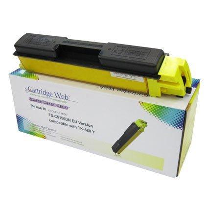 Toner Cartridge Web Yellow Kyocera TK580 zamiennik TK-580Y