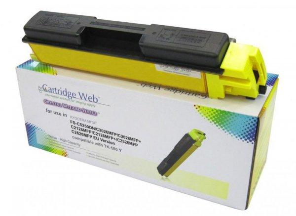 Toner Cartridge Web Yellow Kyocera TK590 zamiennik TK-590Y