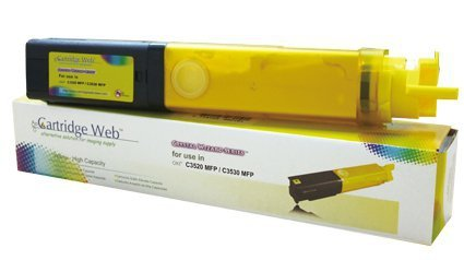 Toner Cartridge Web Yellow Oki C3520 zamiennik 43459369