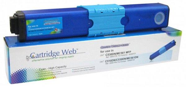 Toner Cartridge Web Cyan OKI C510 zamiennik 44469724