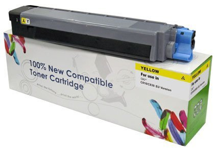 Toner Cartridge Web Yellow OKI MC860 zamiennik 44059209