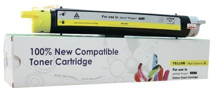 Toner Cartridge Web Yellow Xerox 6350 zamiennik 106R01146