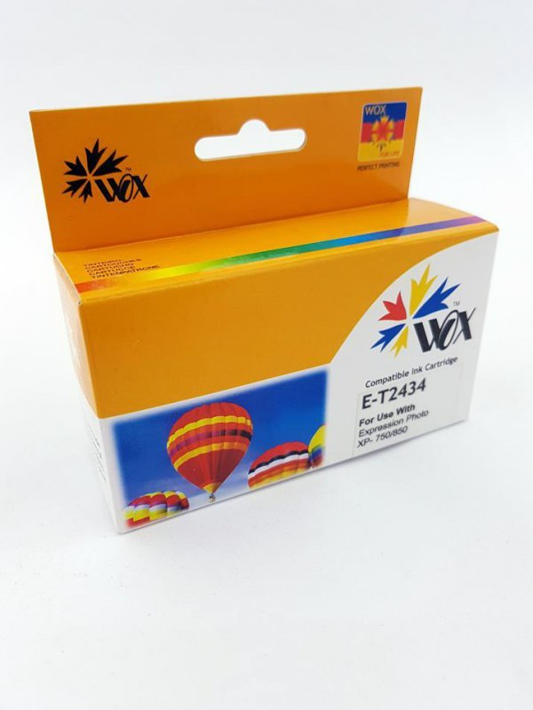 Tusz Wox Yellow Epson T2434 zamiennik T24344010