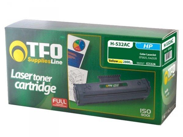 Toner TFO H-532AC zamiennik HP 304A Yellow CC532A