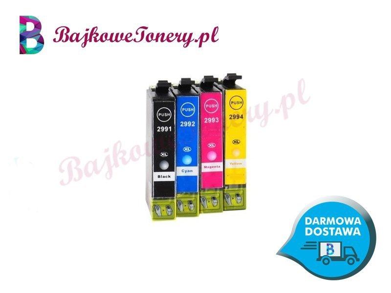 Komplet tuszy Epson T2991 T2992 T2993 T2994 T2995 Zabrze www.BajkoweTonery.pl