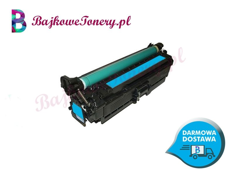Toner zamiennik do hp ce401a, niebieski, m551n, m575