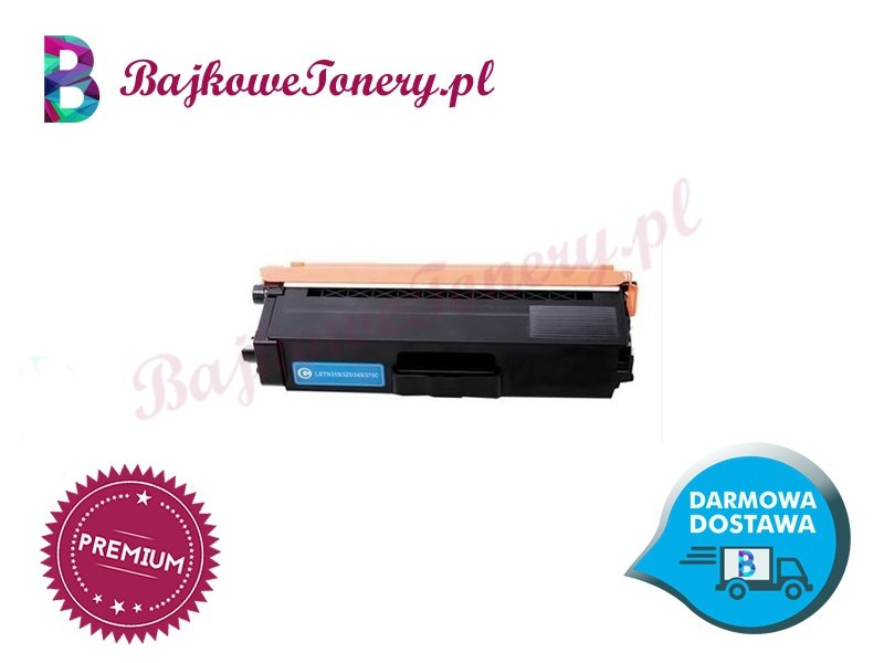 Toner premium zamiennik do brother tn-325c niebieski, hl-4140cn, mfc-9970cdw