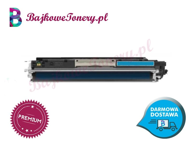 Toner premium zamiennik do hp ce311a, niebieski m175a, cp1025