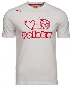PUMA KOSZULKA T-SHIRT POLSKA FOOTBALL TEE 740453 06