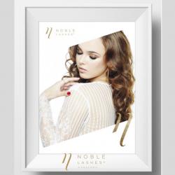 Plakat Noble Lashes Delicate A3
