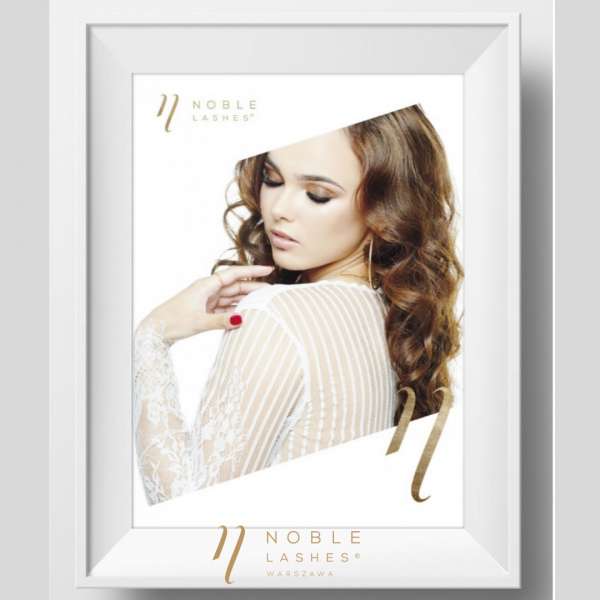 Plakat Noble Lashes Delicate A3