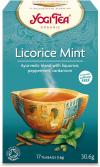HERBATKA MIĘTA Z LUKRECJĄ (LICORICE MINT) BIO (17 x 1,8 g) - YOGI TEA