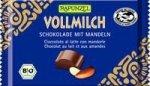 RAPUNZEL bio czekolada mleczna MIGDAŁOWA 100g