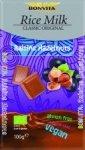 BONVITA bio czekolada bez laktozy ORZECHY & RODZYNKI 100g
