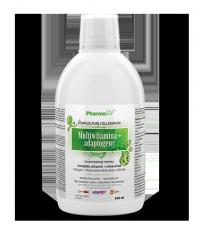 Multiwitamina + adaptogeny Zaawansowana formuła w płynie Pharmovit