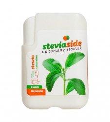 STEVIASIDE - stewia - naturalny słodzik w tabletkach - 200 tabl.