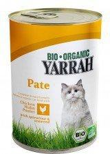 YARRAH bio pasztet dla kota z kurczakiem + ALGI 400g