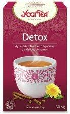 YOGI TEA bio herbata funkcjonalna DETOX 17szt